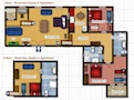 Your Apartments - Riverview Apartment 14 Floor plan