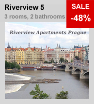 Riverview Apartment 5 in Prague